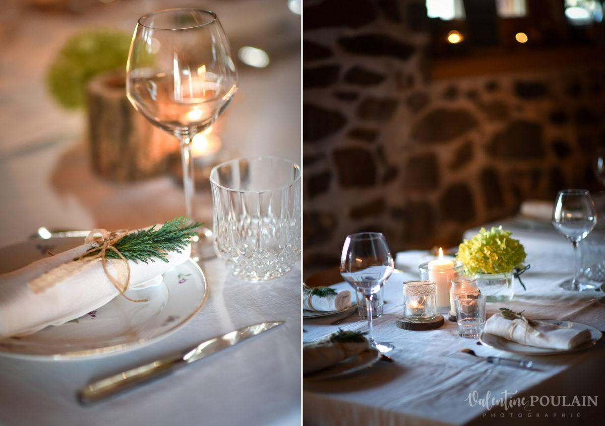 Mariage intimiste montagne - Valentine Poulain décoration