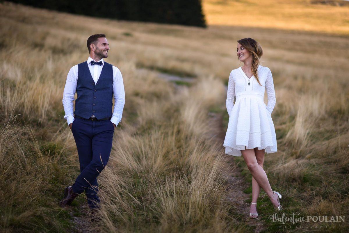 Mariage intimiste montagne - Valentine Poulain deux
