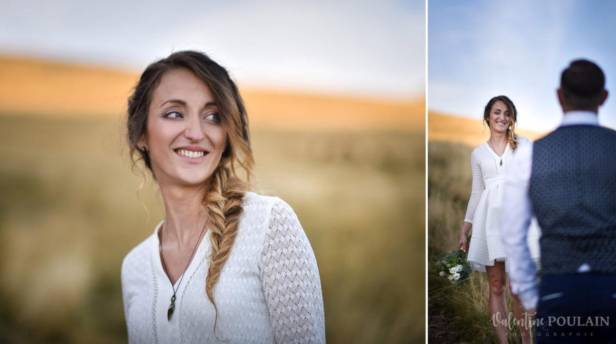 Mariage intimiste montagne - Valentine Poulain elle