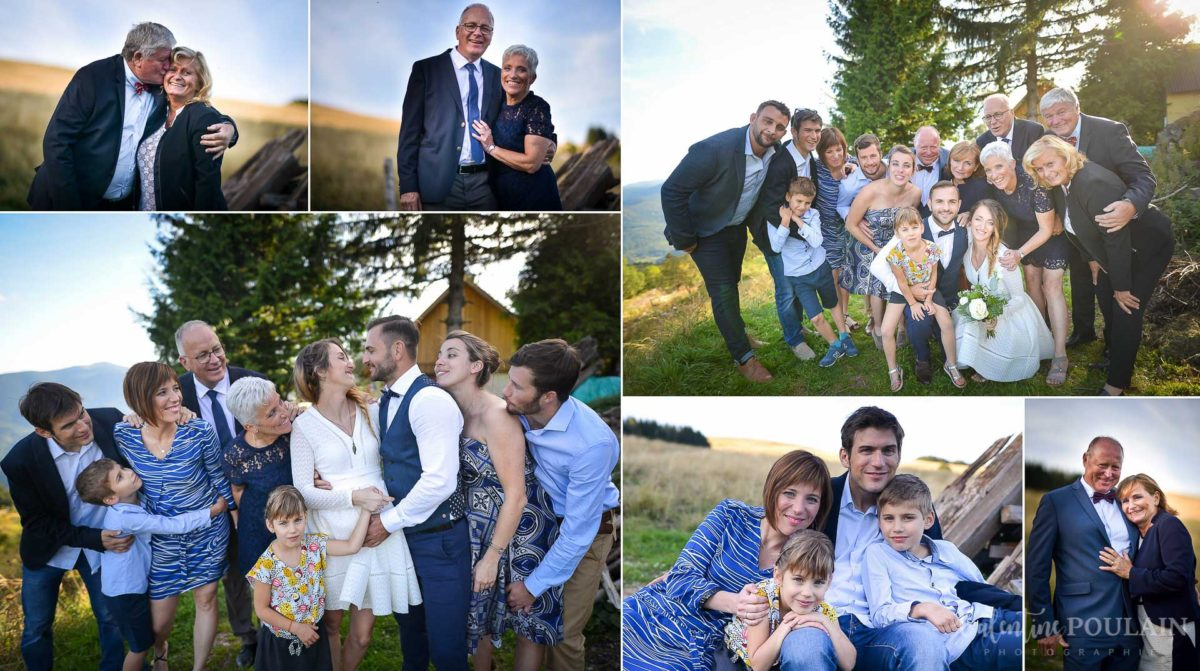 Mariage intimiste montagne - Valentine Poulain famille