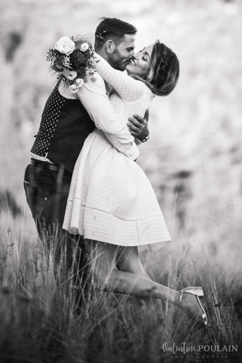 Mariage intimiste montagne - Valentine Poulain netb