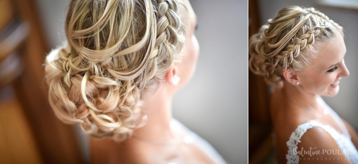 Mariage père marie fille - Valentine Poulain coiffure