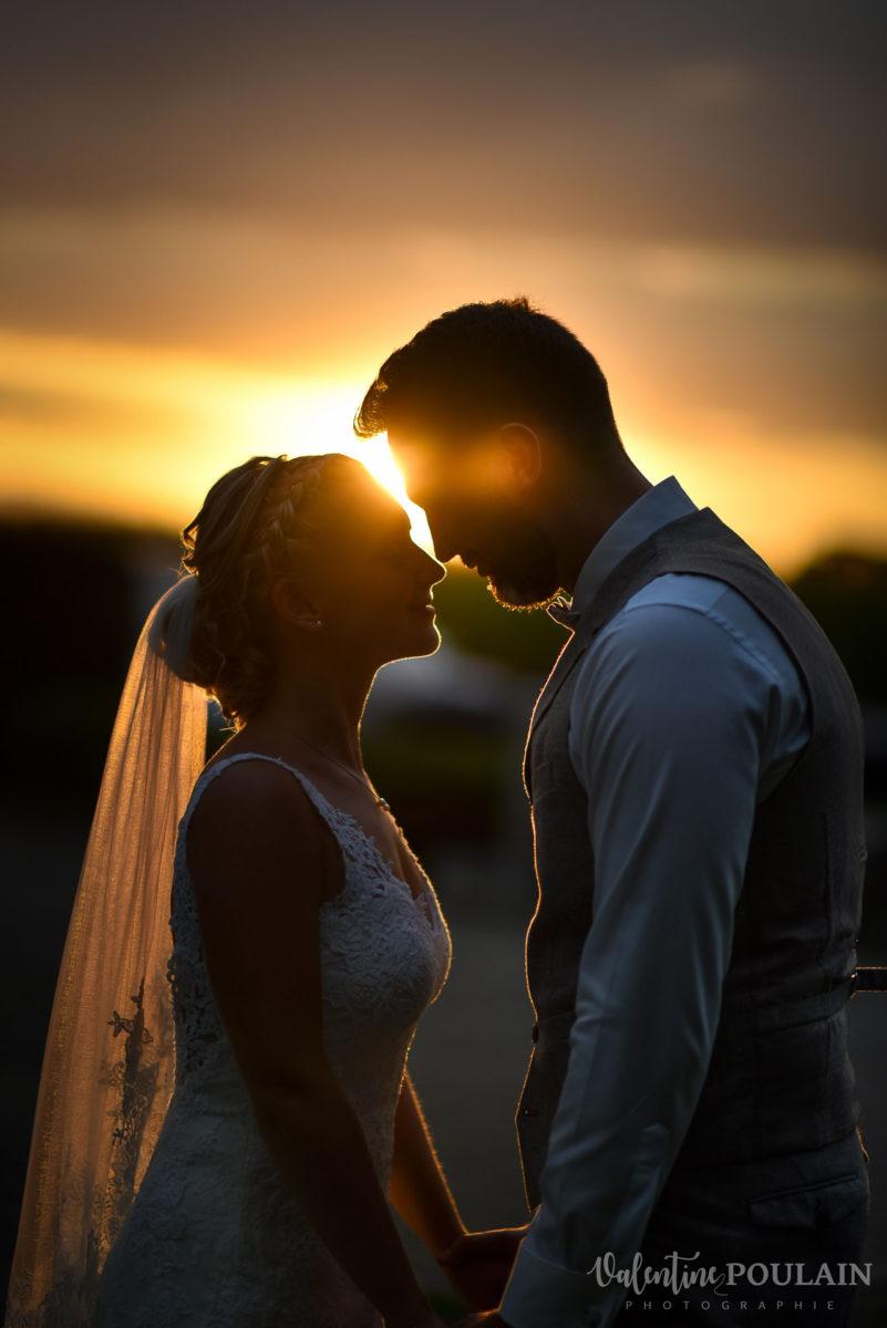 Mariage père marie fille - Valentine Poulain coucher soleil