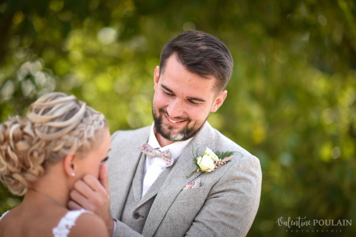 Mariage père marie fille - Valentine Poulain découvre