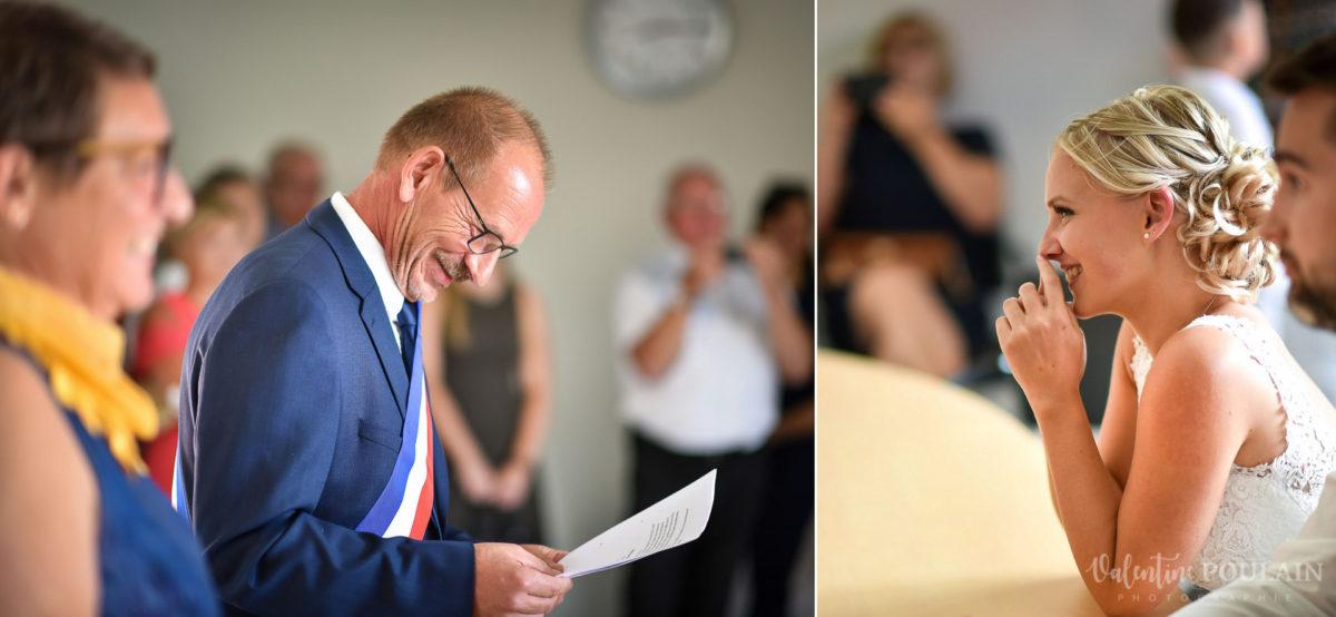 Mariage père marie fille - Valentine Poulain mairie