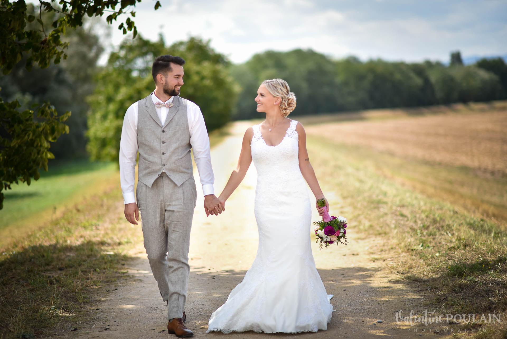 Mariage père marie fille - Valentine Poulain marcher