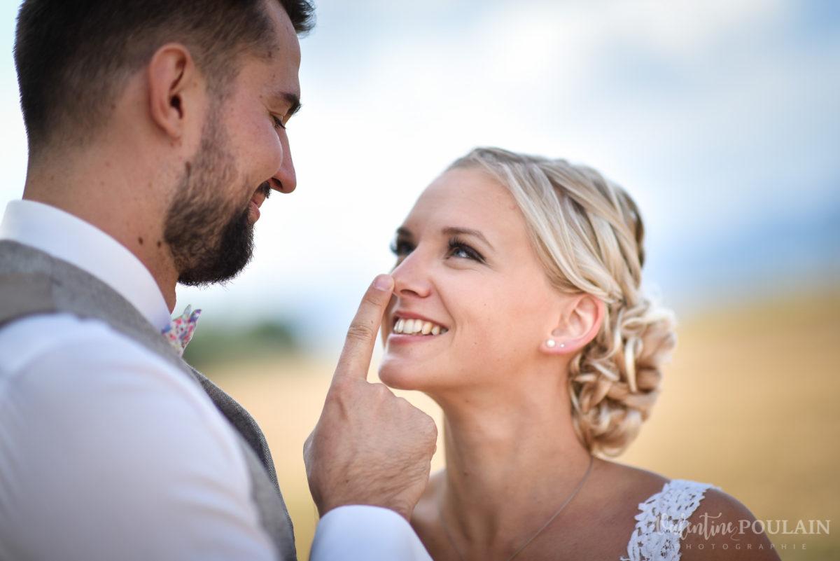Mariage père marie fille - Valentine Poulain nez