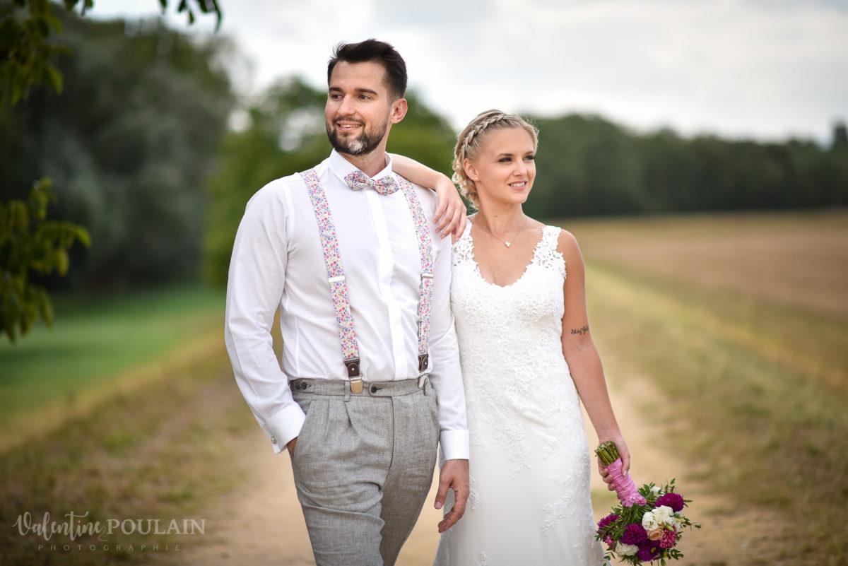 Mariage père marie fille - Valentine Poulain pose