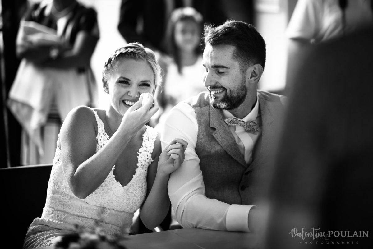 Mariage père marie fille - Valentine Poulain rire