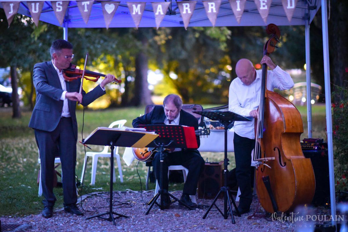 Mariage automne kientzheim musique - Valentine Poulain