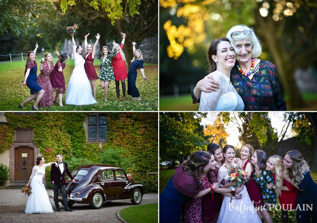 Mariage palette couleurs automne - Valentine Poulain amies