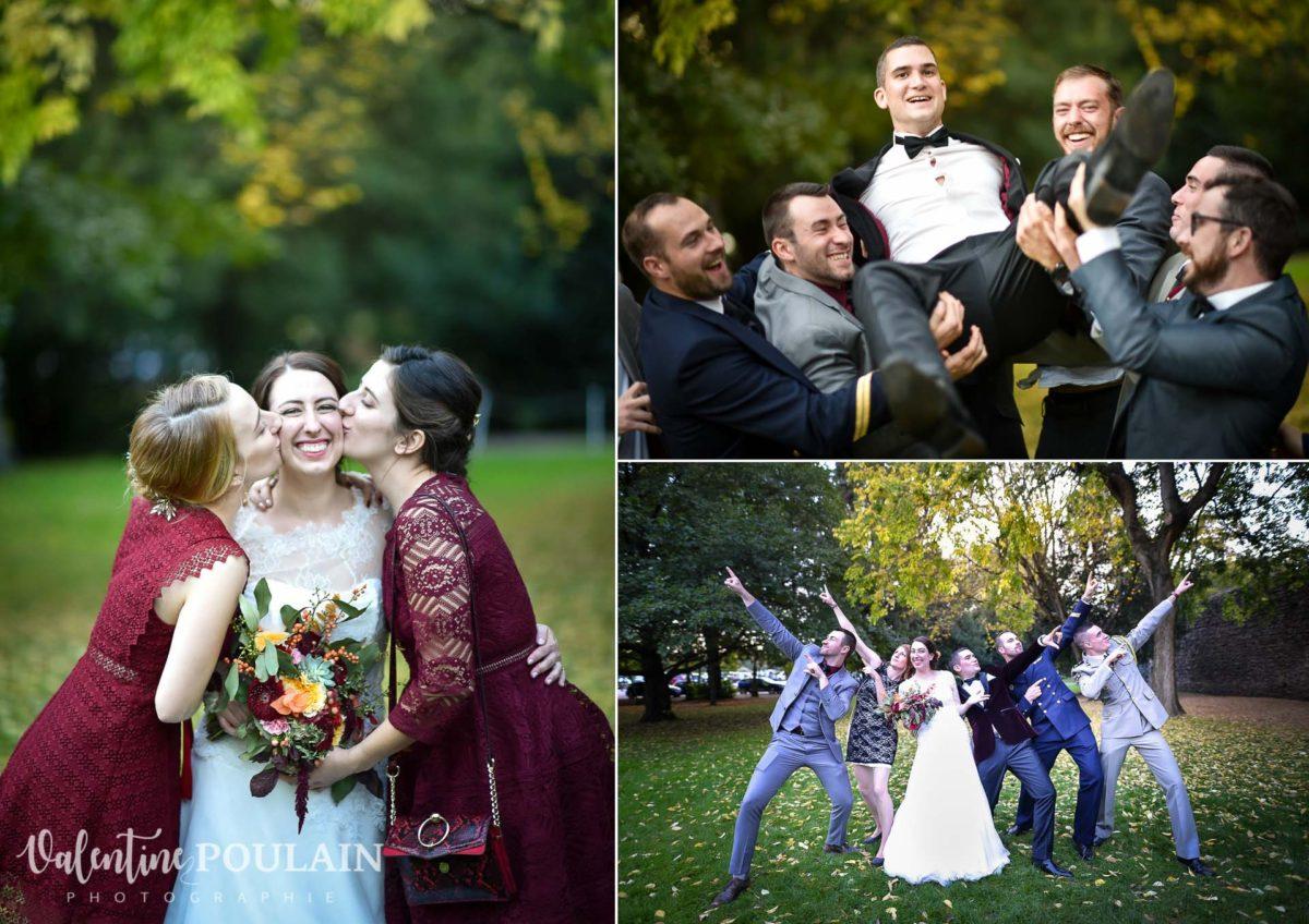 Mariage palette couleurs automne - Valentine Poulain amis