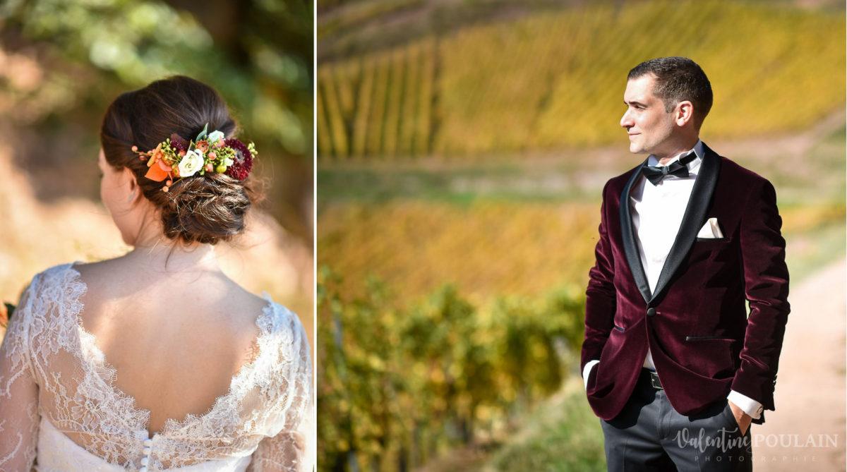 Mariage palette couleurs automne - Valentine Poulain amoureux