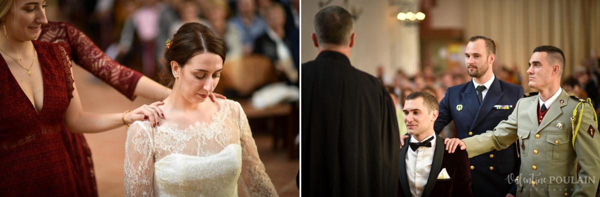 Mariage palette couleurs automne - Valentine Poulain cérémonie protestante