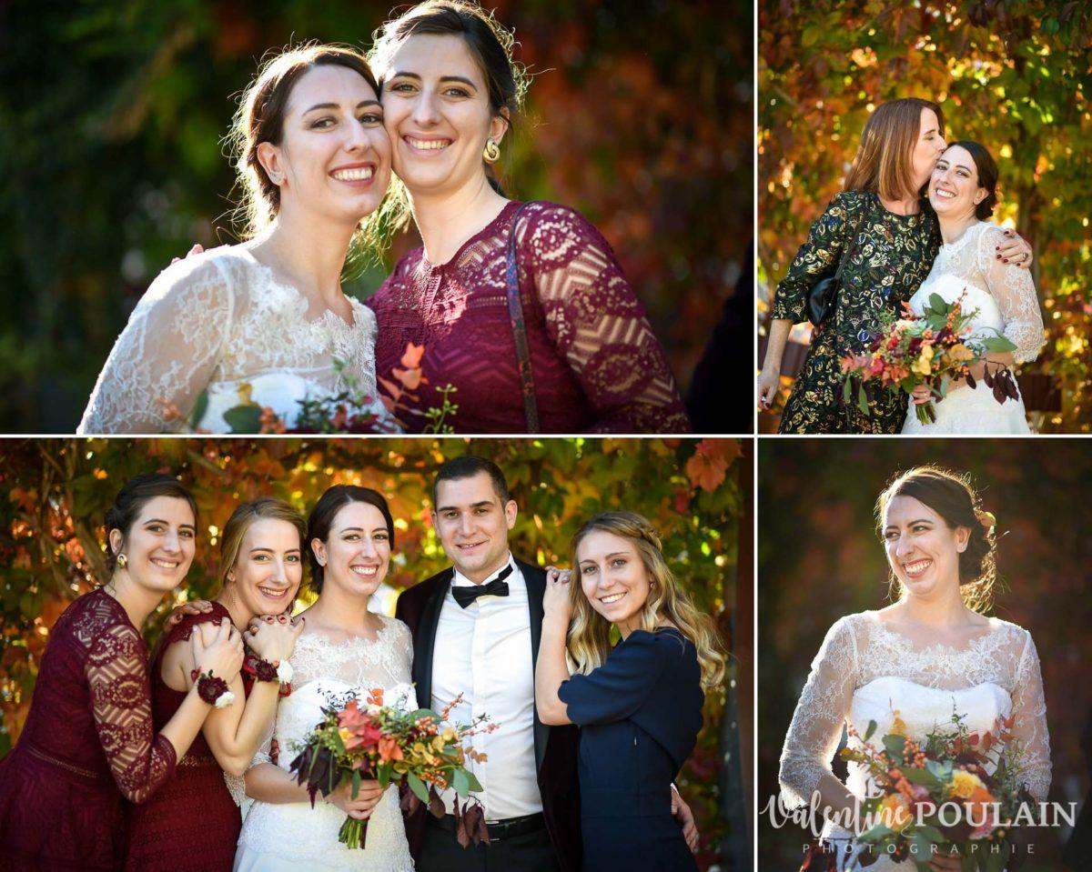 Mariage palette couleurs automne - Valentine Poulain couleurs