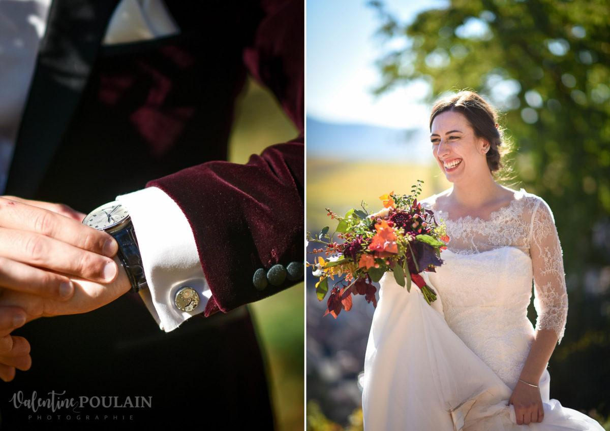 Mariage palette couleurs automne - Valentine Poulain découverte