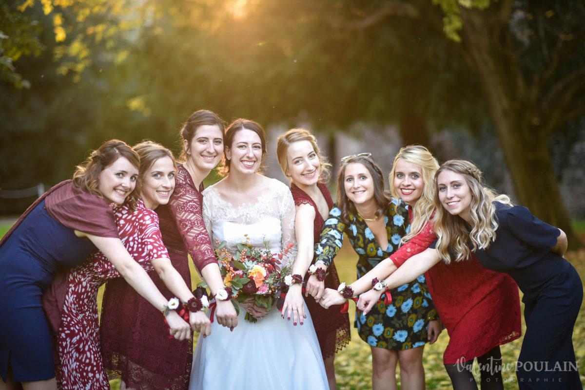 Mariage palette couleurs automne - Valentine Poulain girl
