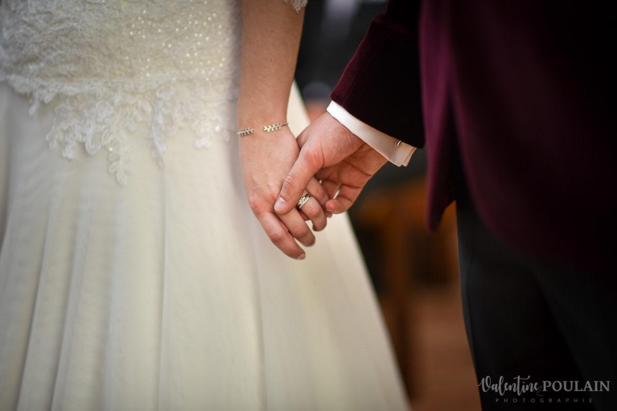 Mariage palette couleurs automne - Valentine Poulain mains