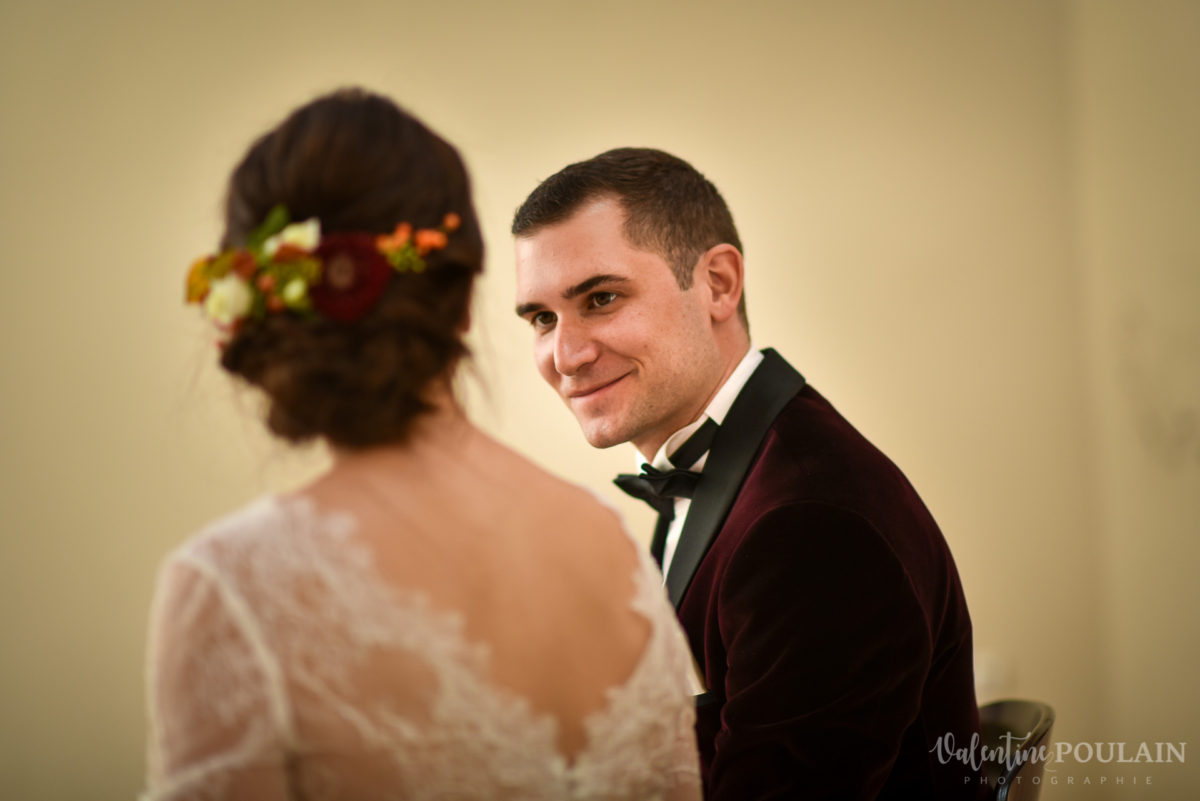 Mariage palette couleurs automne - Valentine Poulain regard