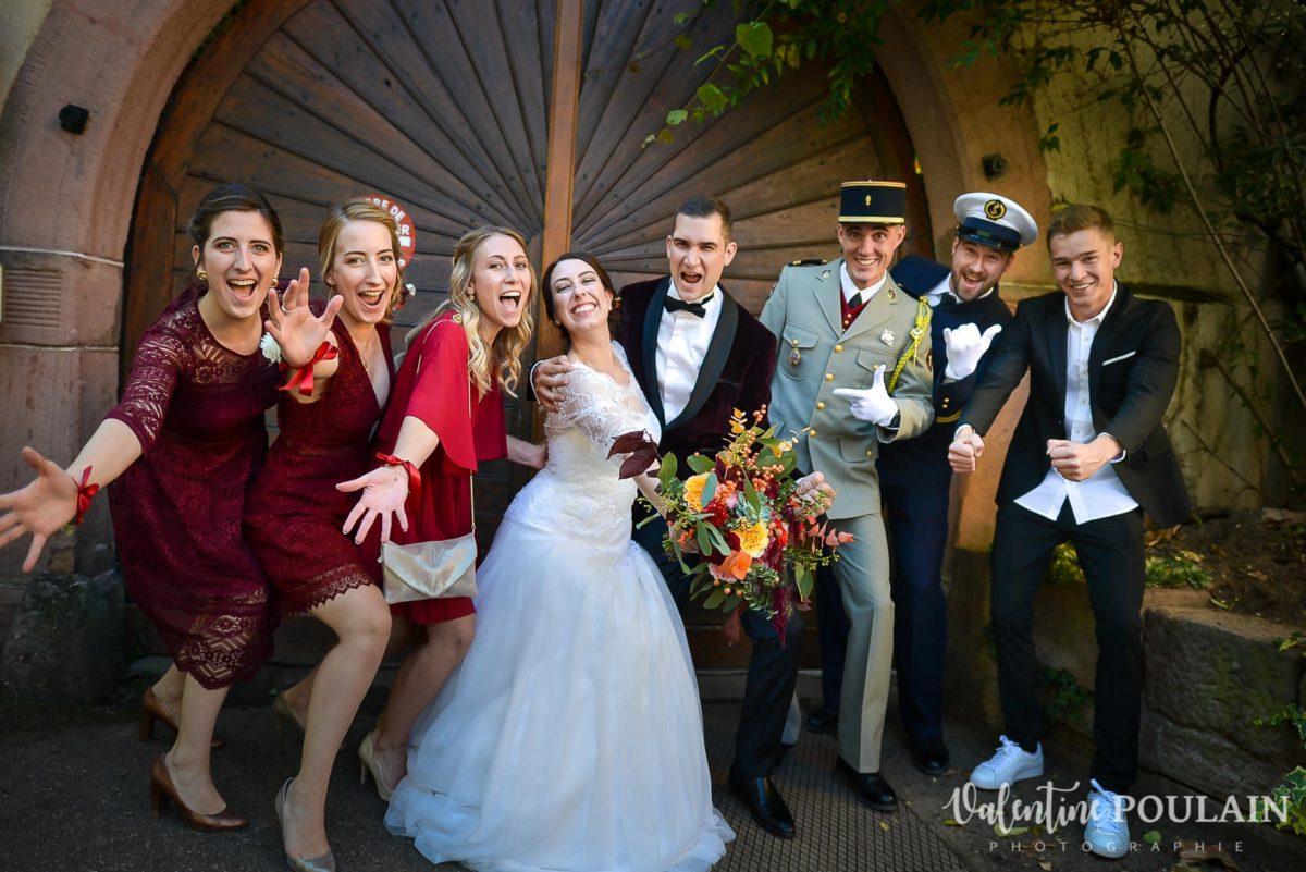 Mariage palette couleurs automne - Valentine Poulain témoins