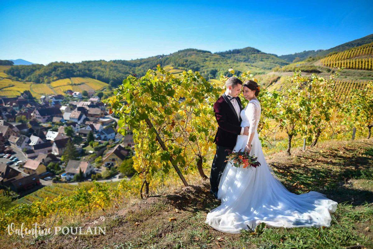 Mariage palette couleurs automne - Valentine Poulain vignes
