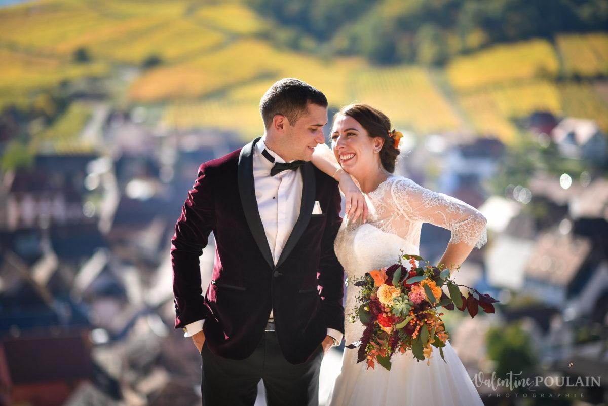 Mariage palette couleurs automne - Valentine Poulain village
