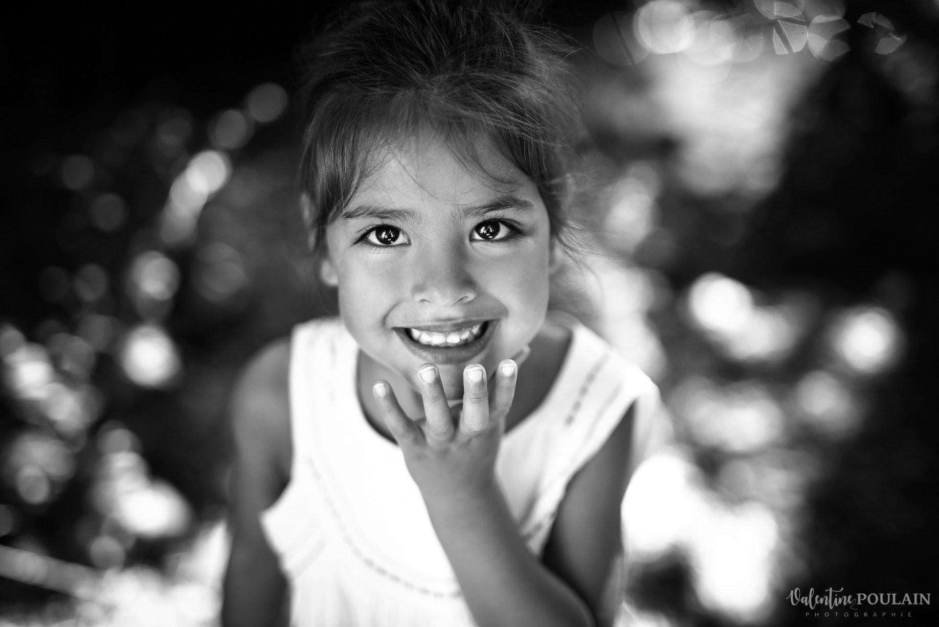 Portrait fille Lucia - Valentine Poulain