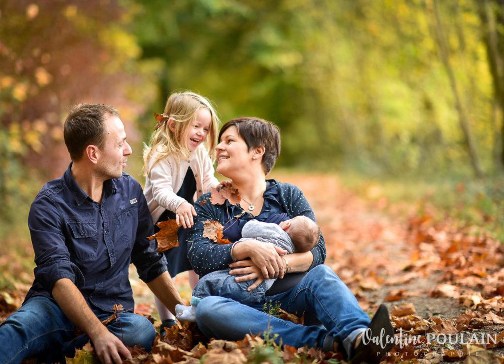 Shooting famille quel âge - Valentine Poulain automne