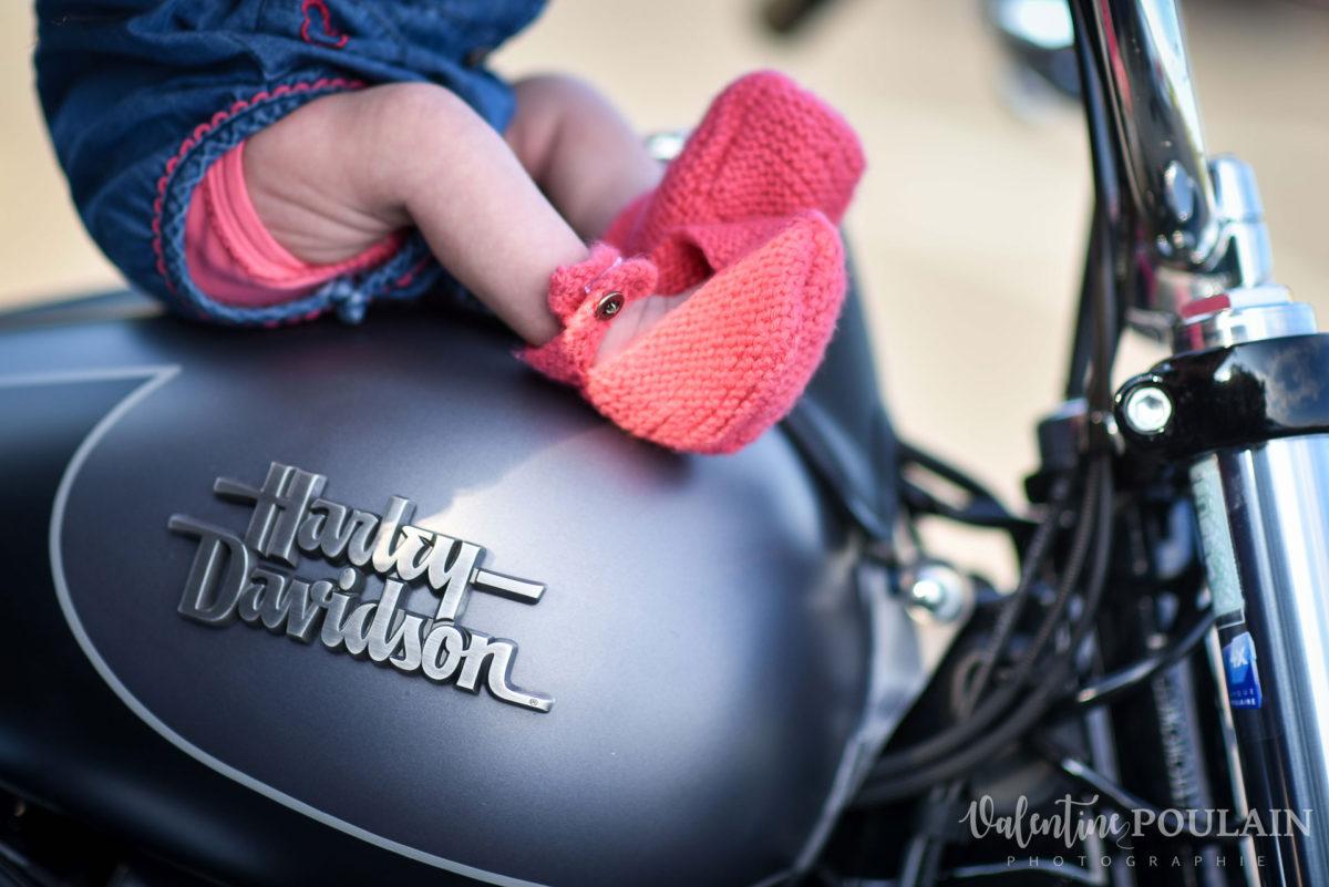 Shooting famille quel âge - Valentine Poulain moto