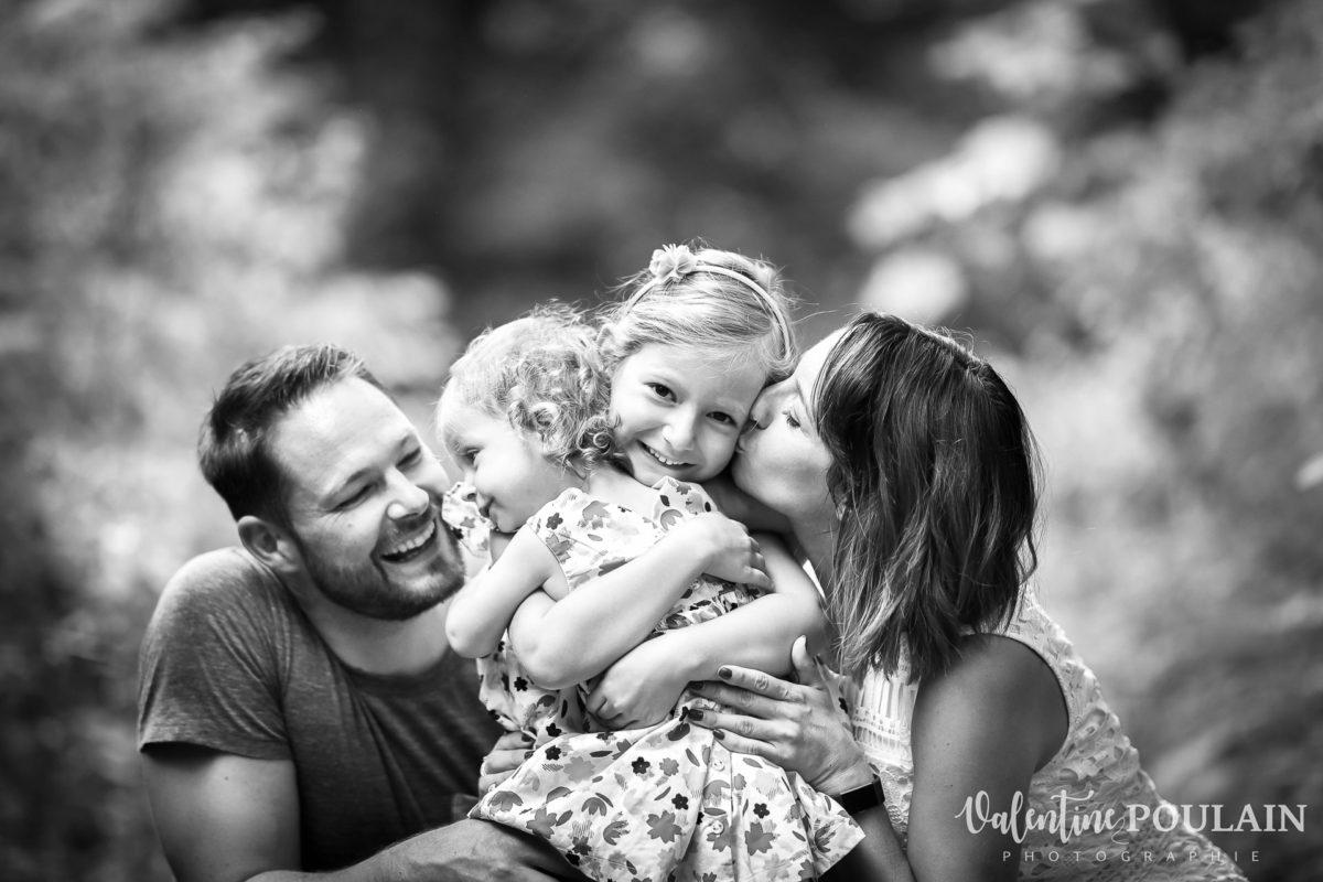 Shooting famille quel âge - Valentine Poulain n et b