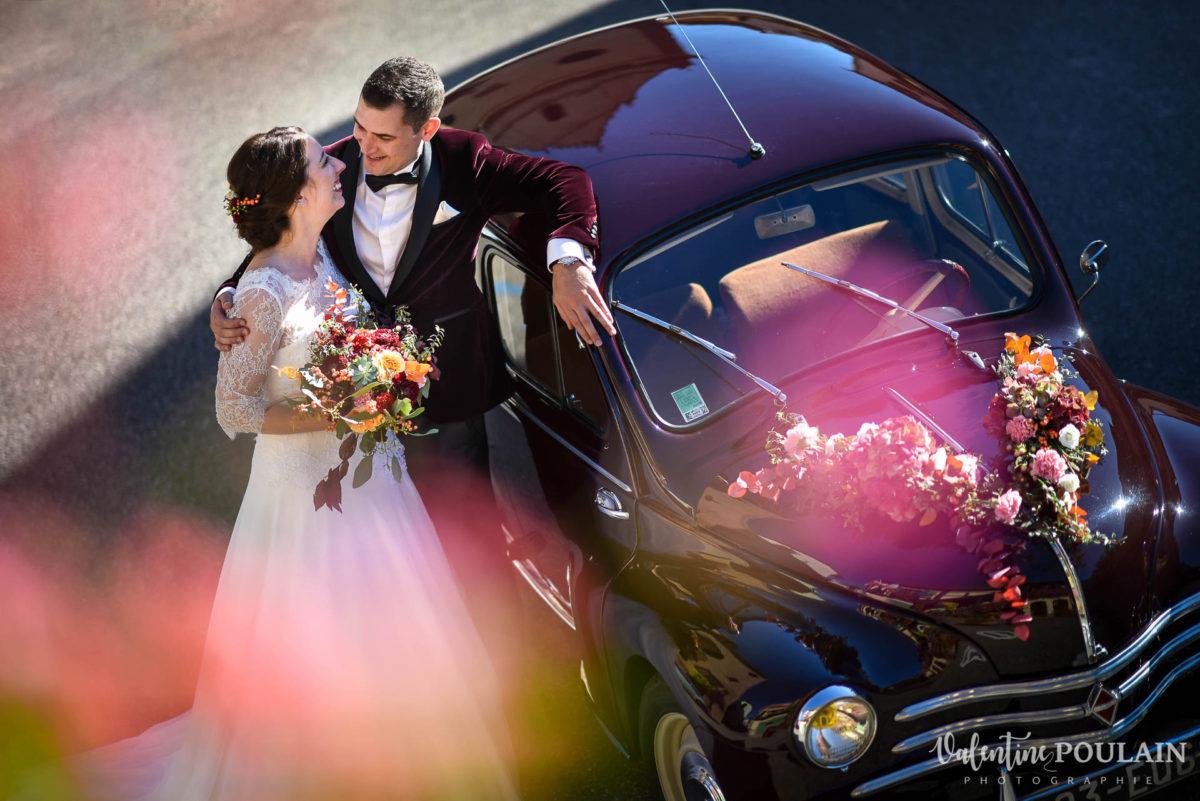 Voiture Anna & Jerôme mariage - Valentine Poulain
