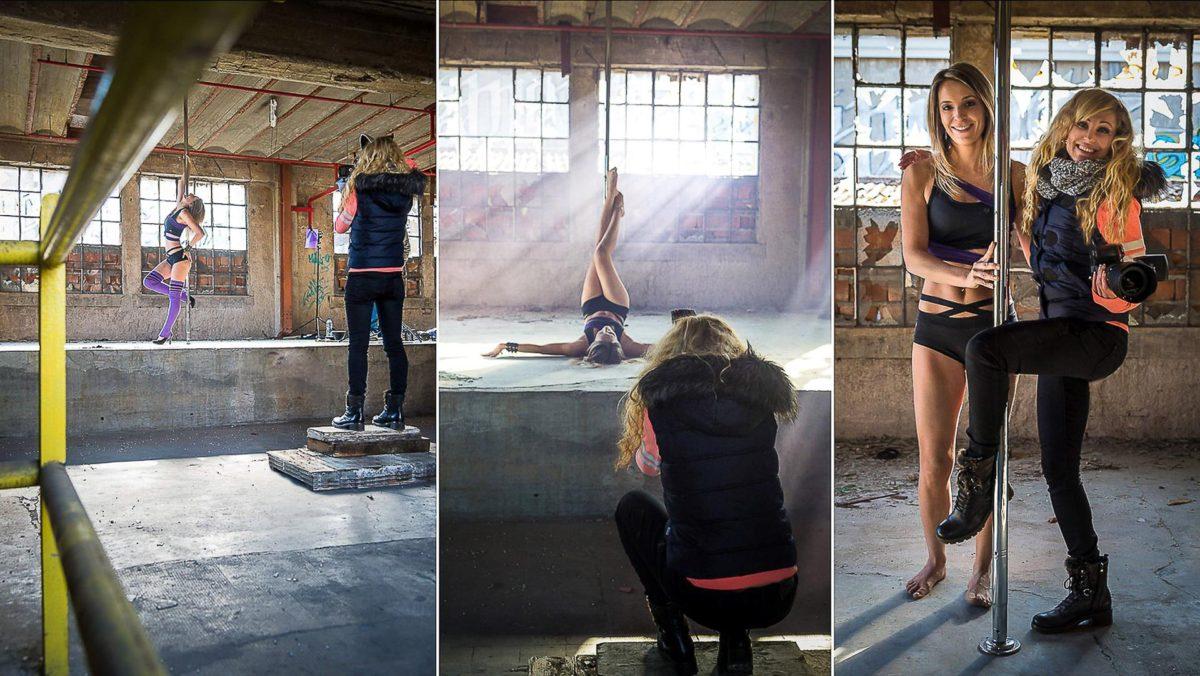 BTS Shooting photo Pole Dance - Valentine Poulain