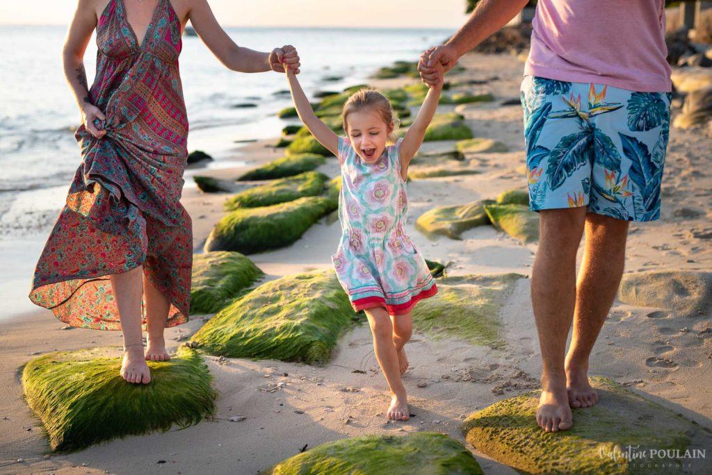 Shooting famille ile Maurice plage - Valentine Poulain