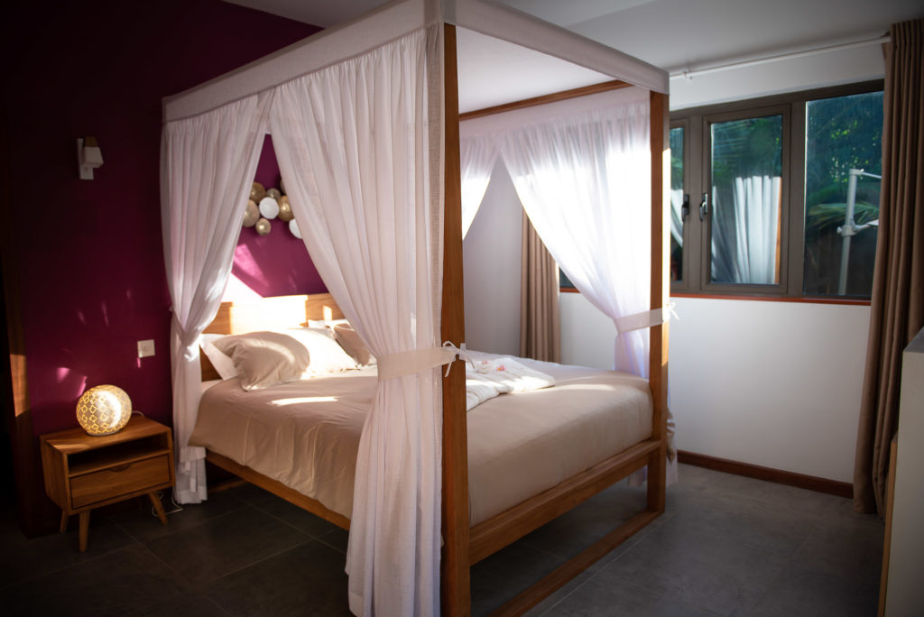 Villa Ile Maurice - Valentine Poulain chambre