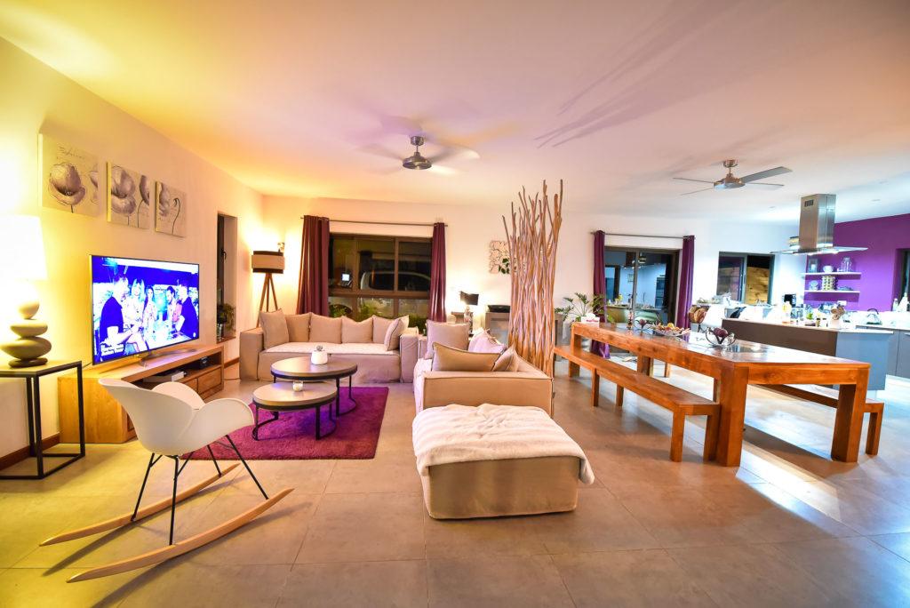 Villa Ile Maurice - Valentine Poulain salon