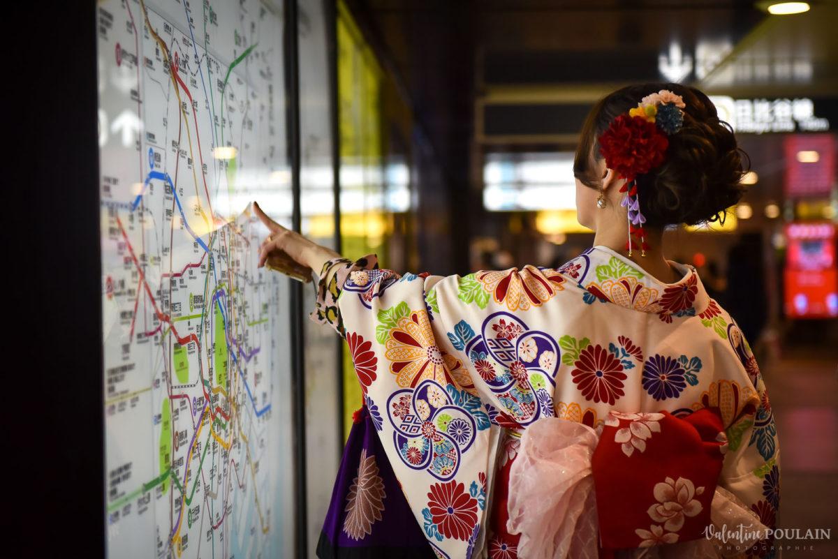 JAPON Tokyo Kyoto - Valentine Poulain métro