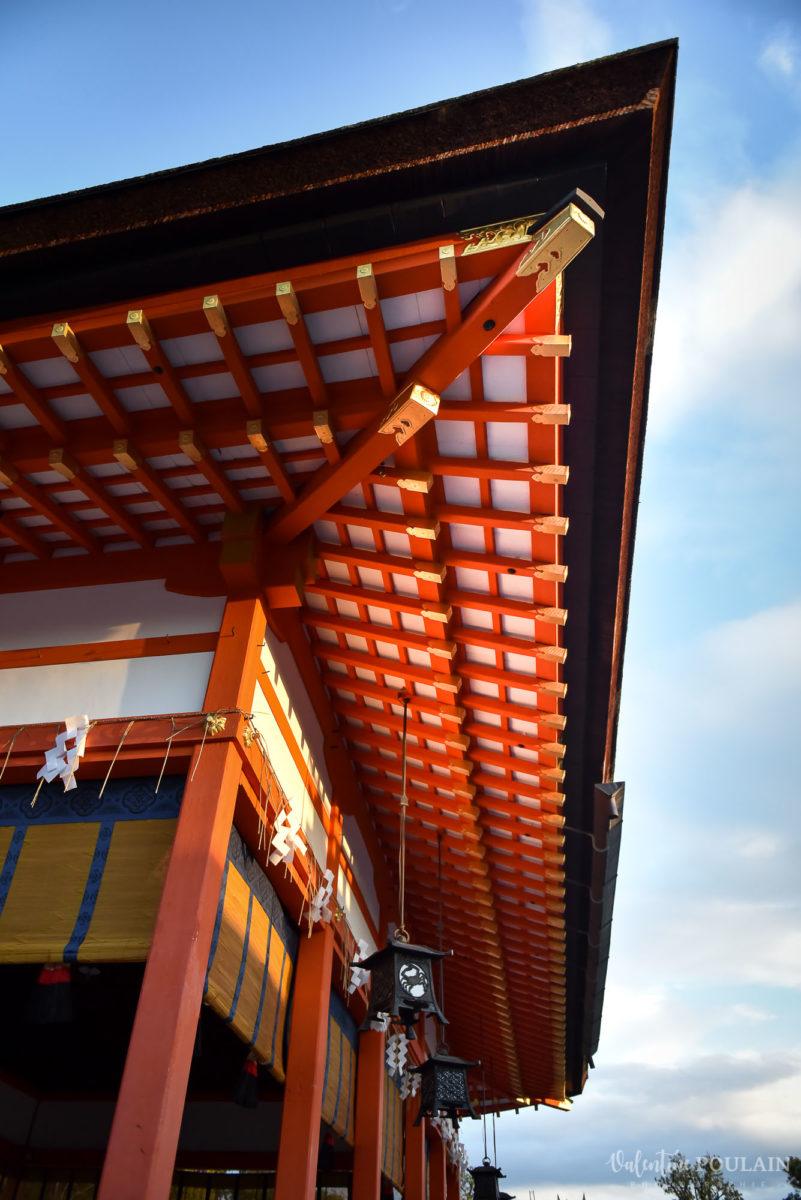 JAPON Tokyo Kyoto - Valentine Poulain temple toit