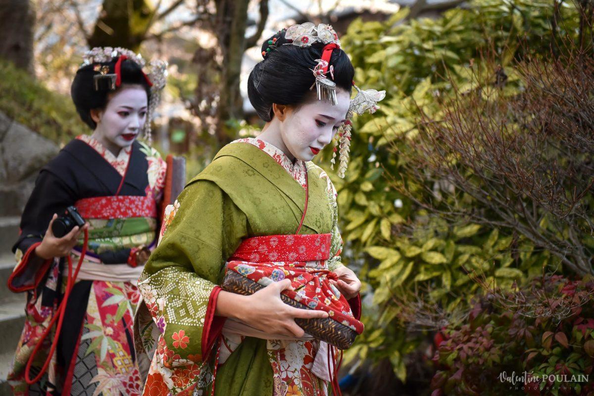 JAPON Tokyo Kyoto - Valentine Poulain geisha