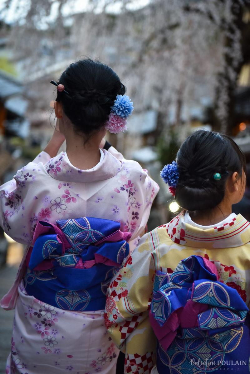 JAPON Tokyo Kyoto - Valentine Poulain kimonos