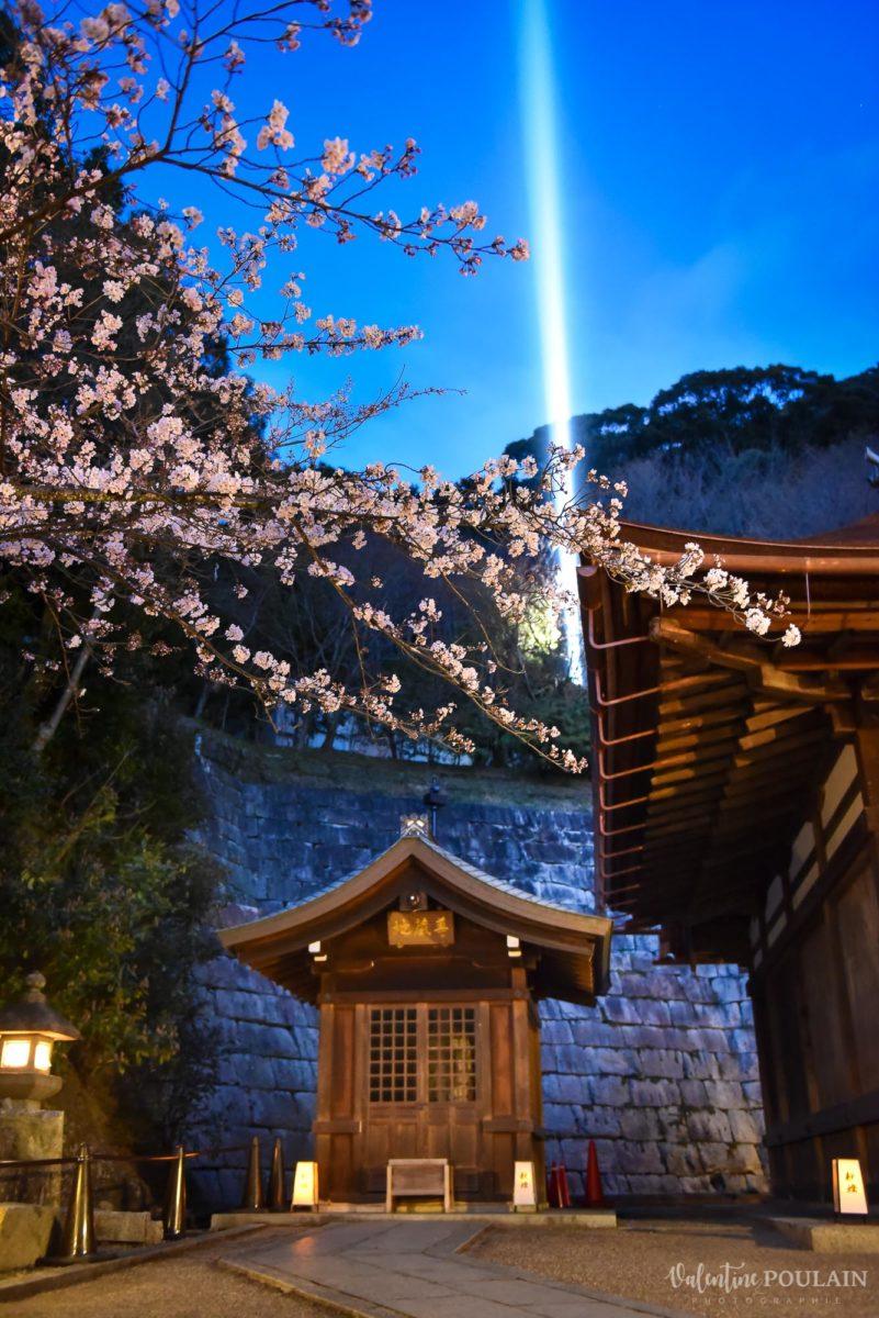JAPON Tokyo Kyoto - Valentine Poulain nuit temple