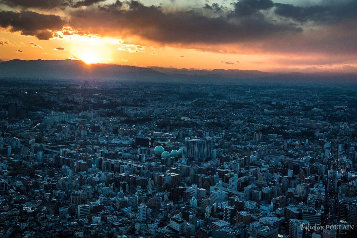 JAPON Tokyo Kyoto - Valentine Poulain coucher soleil