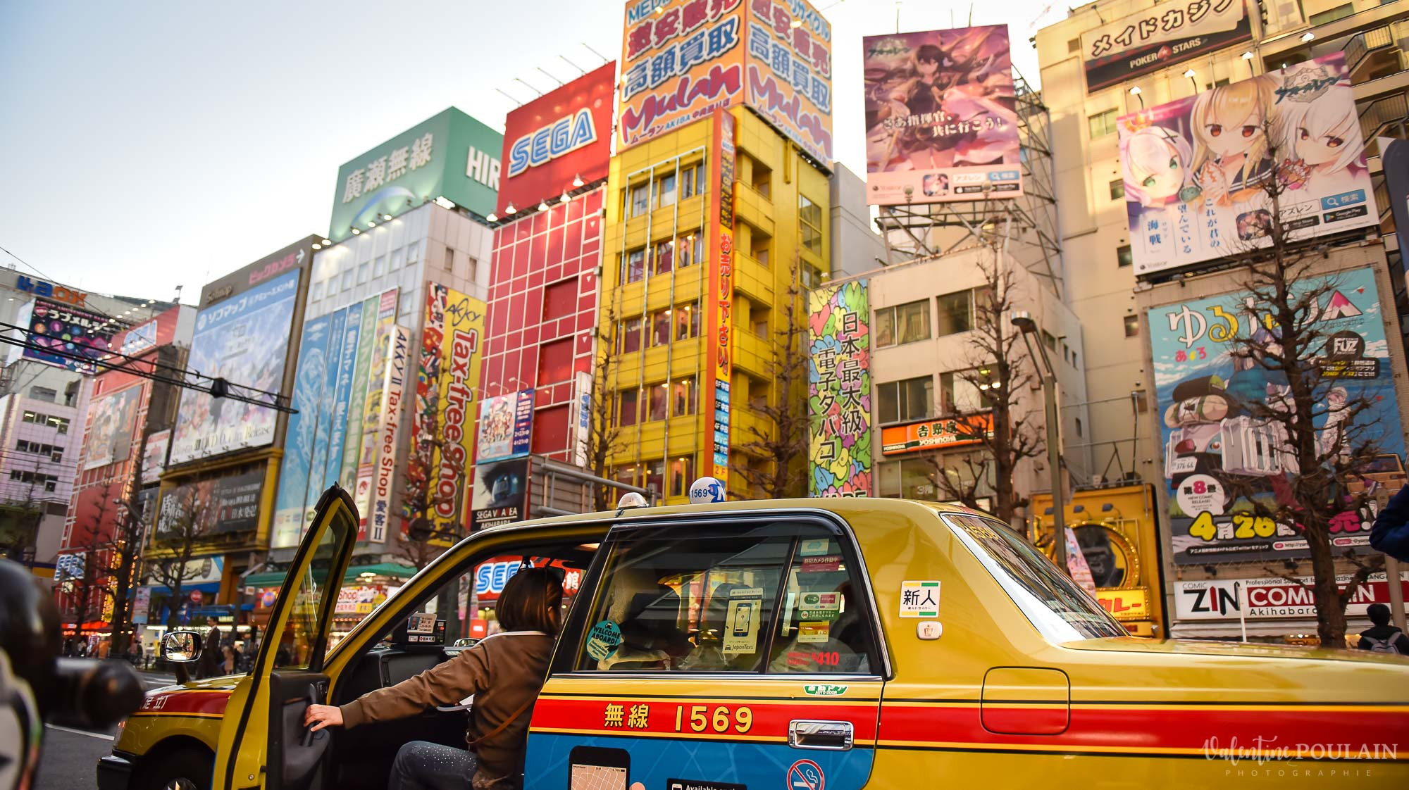 JAPON Tokyo Kyoto - Valentine Poulain taxi