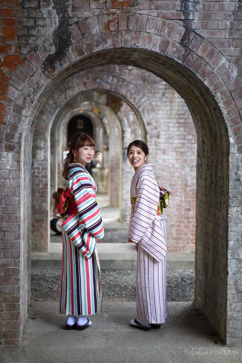 Japon femmes arches - Valentine Poulain