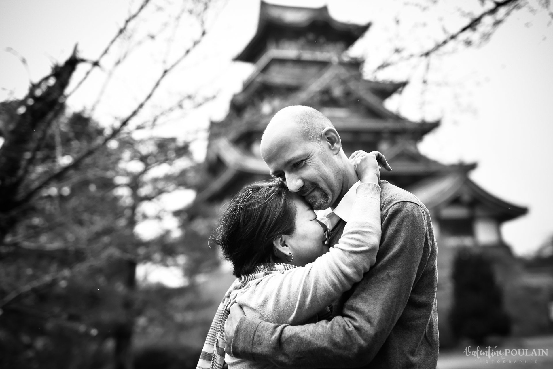 Shooting Couple Kyoto - Valentine Poulain chateau