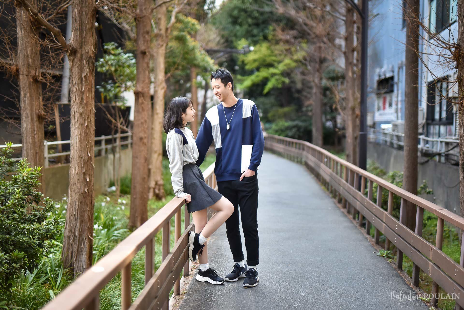 Shooting couple Japon Tokyo - Valentine Poulain chemin