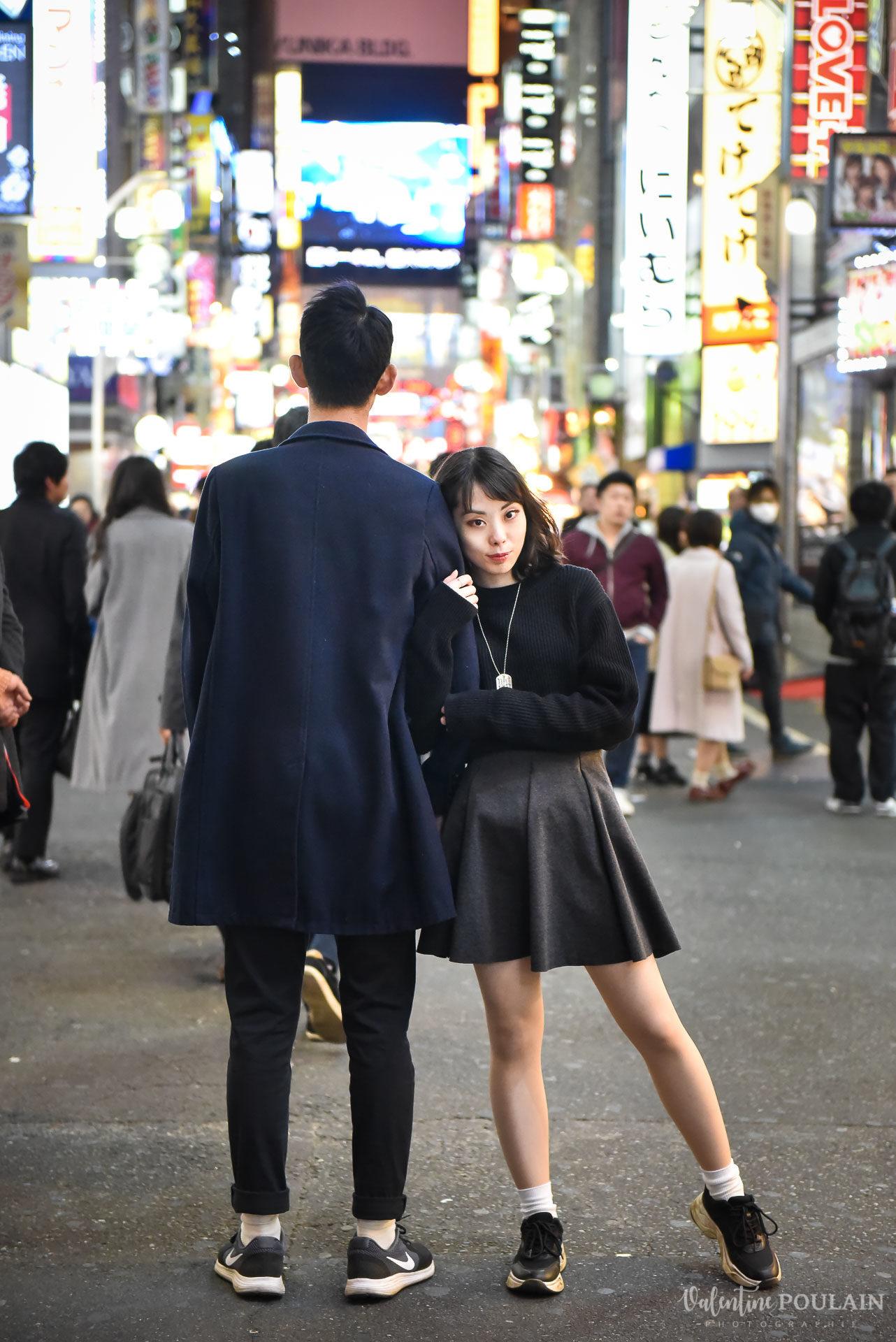Shooting couple Japon Tokyo - Valentine Poulain lumières