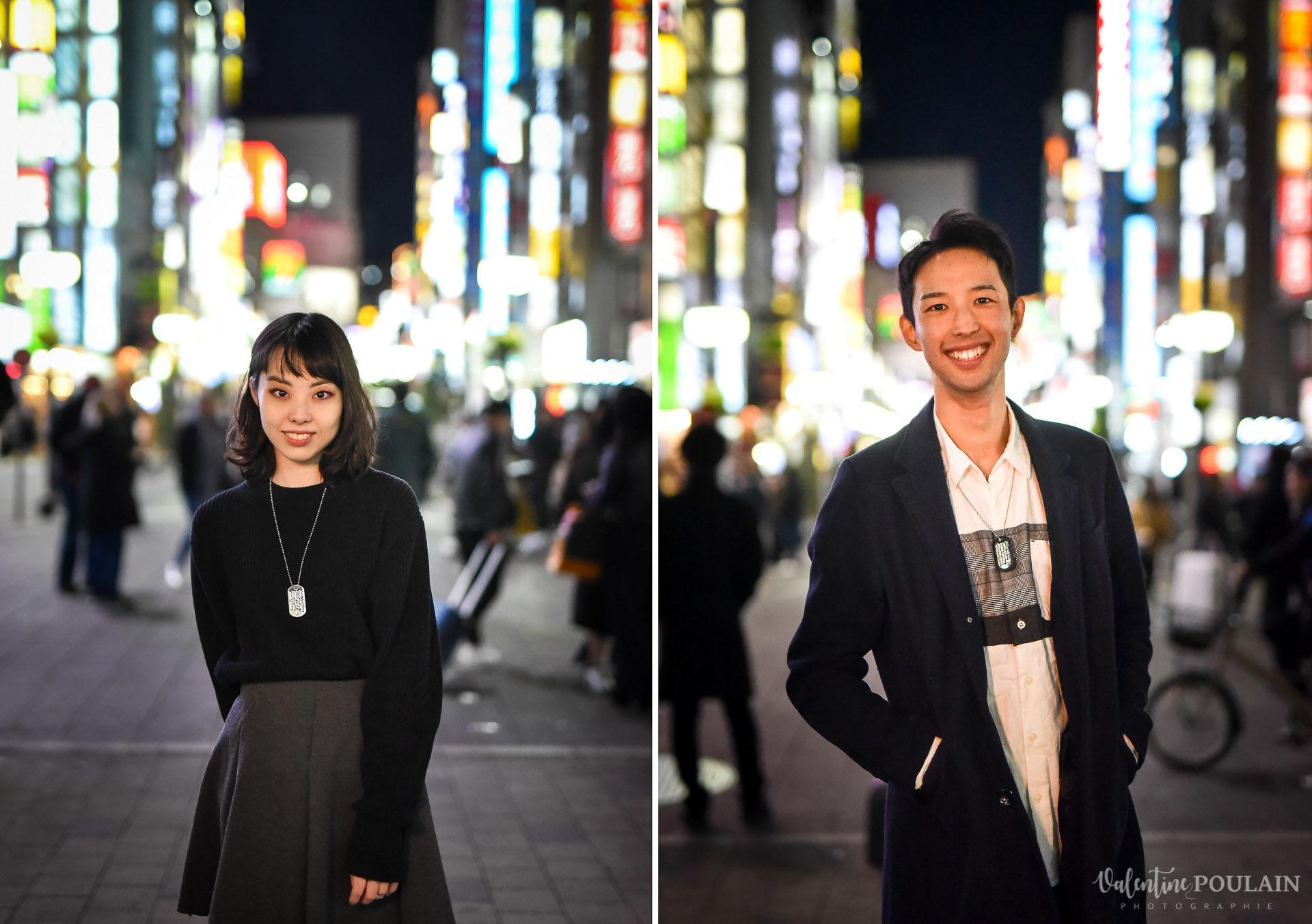 Shooting couple Japon Tokyo - Valentine Poulain portraits