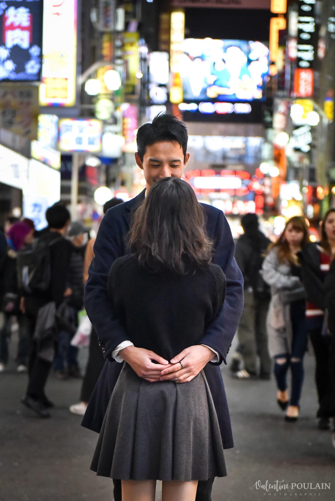 Shooting couple Japon Tokyo - Valentine Poulain regard