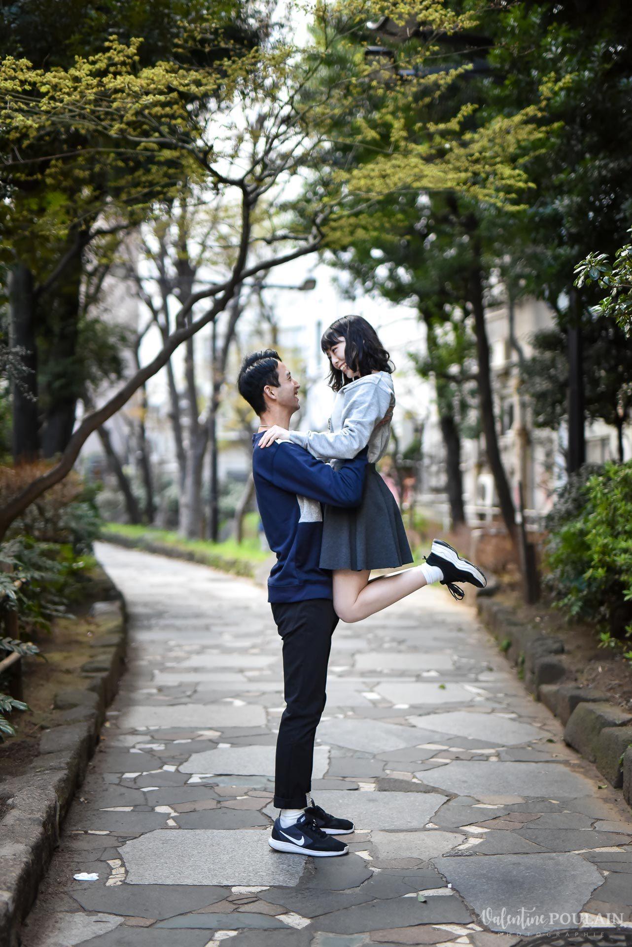 Shooting couple Japon Tokyo - Valentine Poulain saut