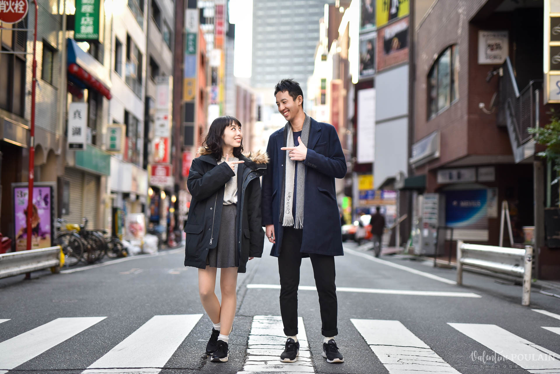 Shooting couple Japon Tokyo - Valentine Poulain street